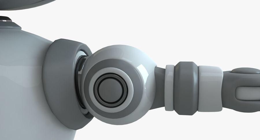 Scifi Robot(1) royalty-free 3d model - Preview no. 8