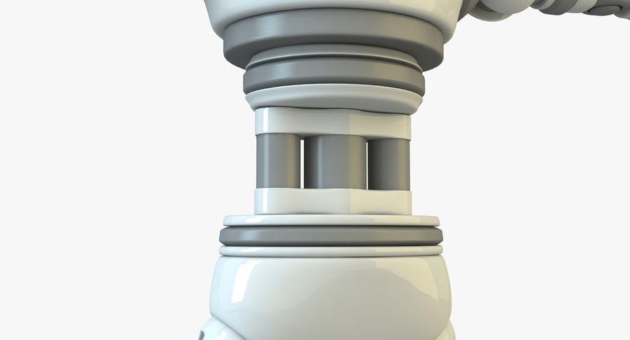 Scifi Robot(1) royalty-free 3d model - Preview no. 11