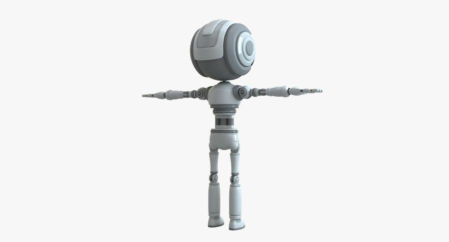 Scifi Robot(1) royalty-free 3d model - Preview no. 2