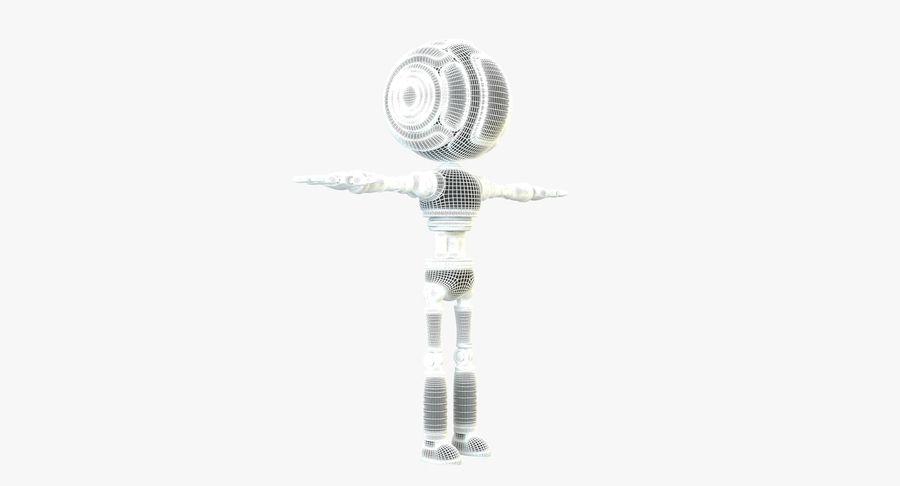 Scifi Robot(1) royalty-free 3d model - Preview no. 15