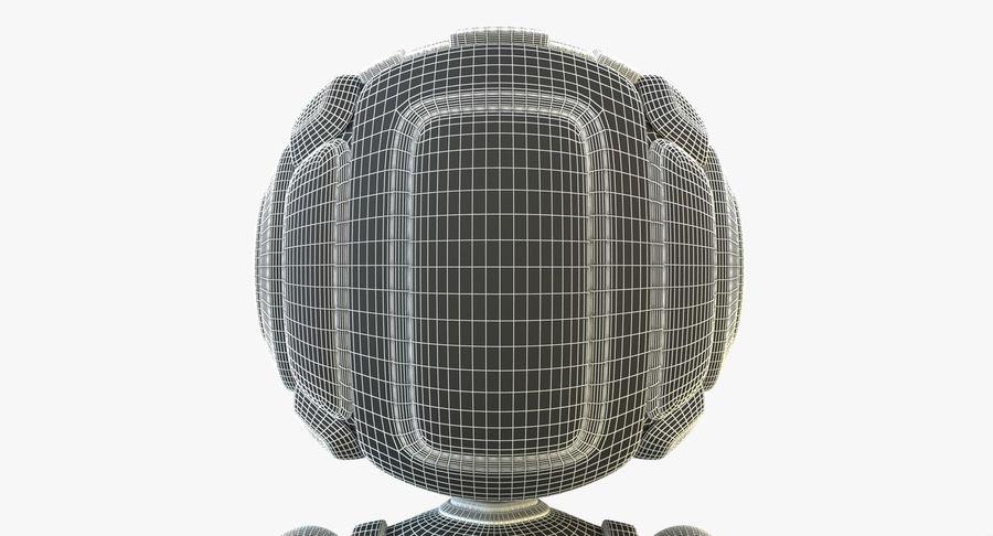 Scifi Robot(1) royalty-free 3d model - Preview no. 17