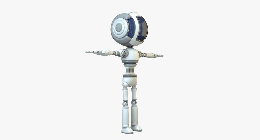 Scifi Robot(1) royalty-free 3d model - Preview no. 3