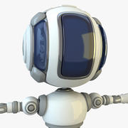 Scifi Robot (1) 3d model