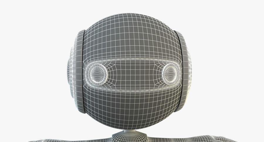 Super hero Robot royalty-free 3d model - Preview no. 7