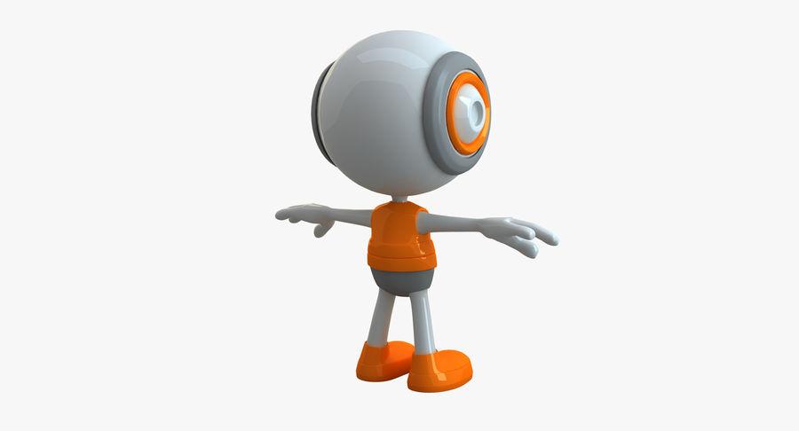 Super hero Robot royalty-free 3d model - Preview no. 21