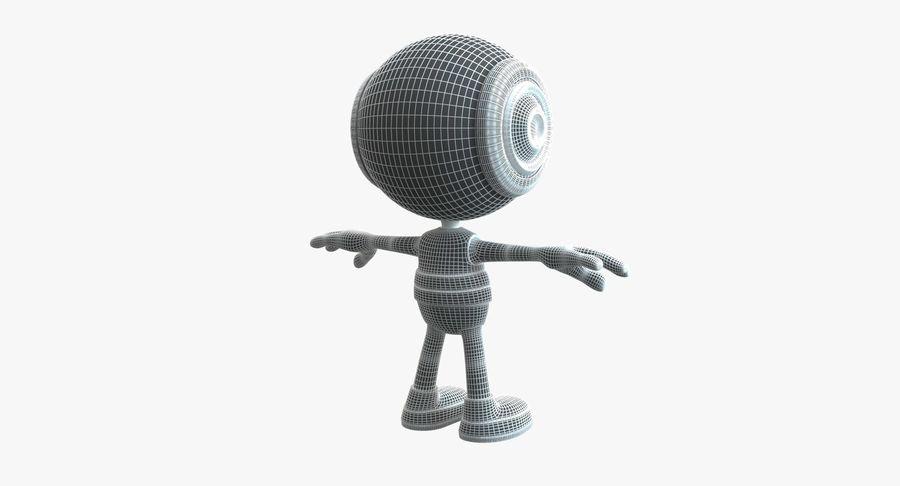 Super hero Robot royalty-free 3d model - Preview no. 4