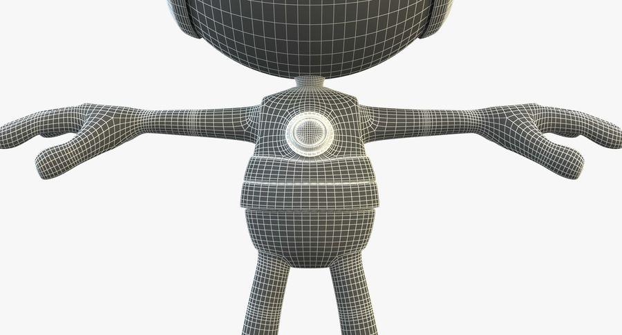 Super hero Robot royalty-free 3d model - Preview no. 12