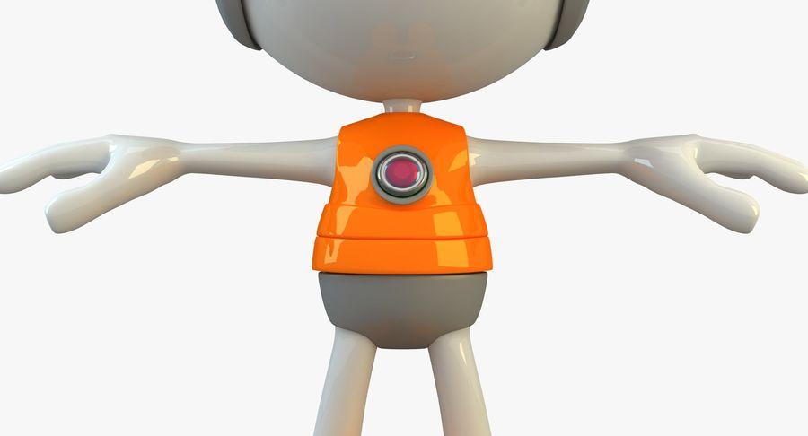 Super hero Robot royalty-free 3d model - Preview no. 20