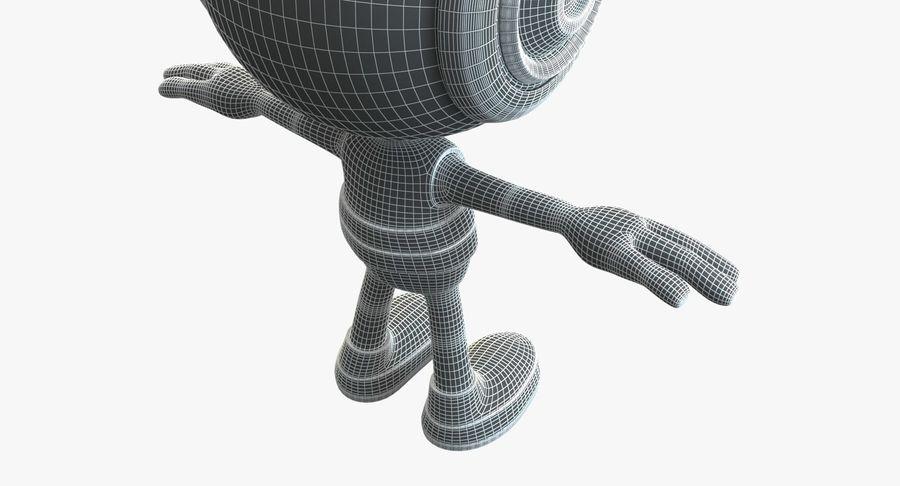 Super hero Robot royalty-free 3d model - Preview no. 10