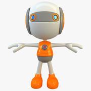 Супер герой робот 3d model