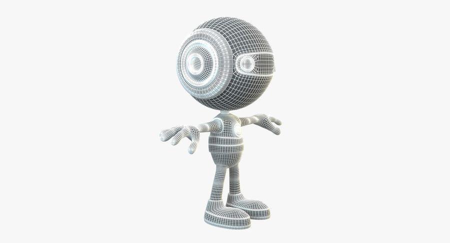 Super hero Robot royalty-free 3d model - Preview no. 5