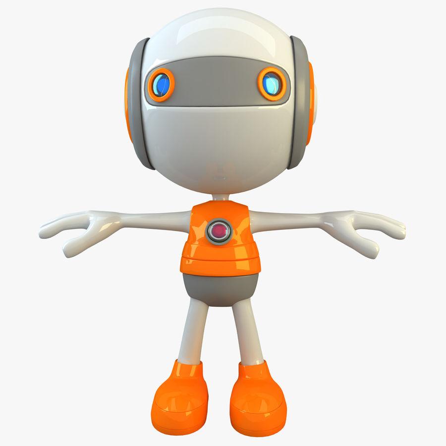 Super hero Robot royalty-free 3d model - Preview no. 1