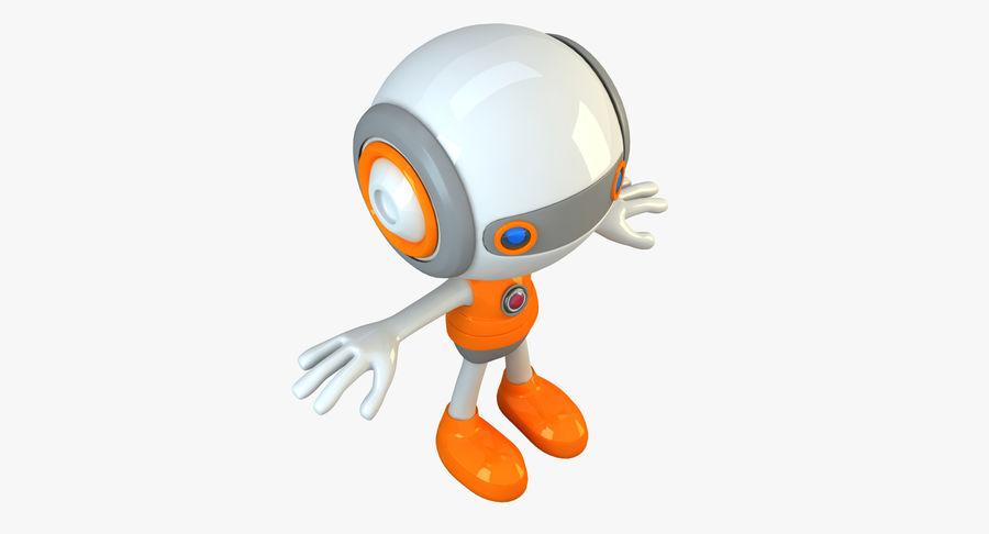 Super hero Robot royalty-free 3d model - Preview no. 19
