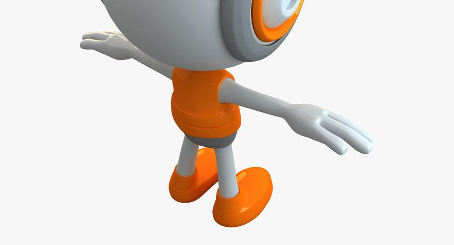 Super hero Robot royalty-free 3d model - Preview no. 18