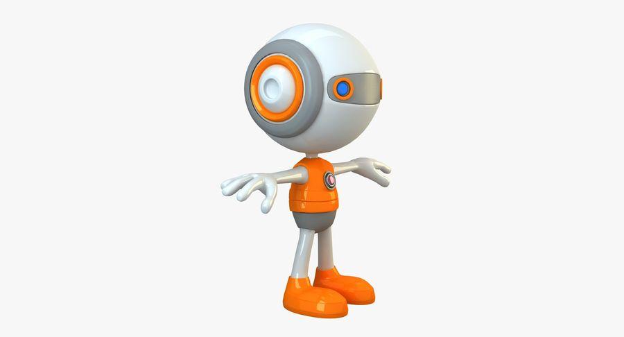 Super hero Robot royalty-free 3d model - Preview no. 3