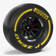 Formula One Wheel 3d model