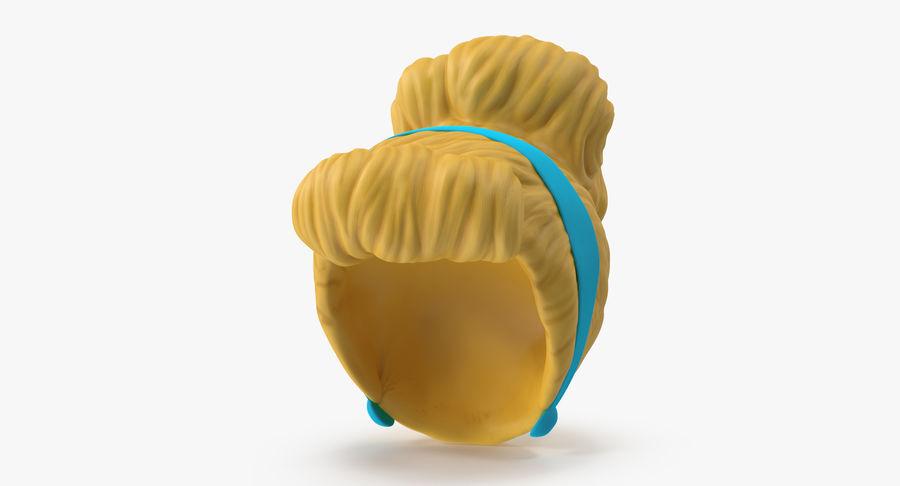 Cinderella Wig 3D Model $39 -  max  c4d  obj - Free3D