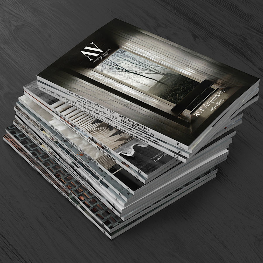Magazines Open royalty-free 3d model - Preview no. 8