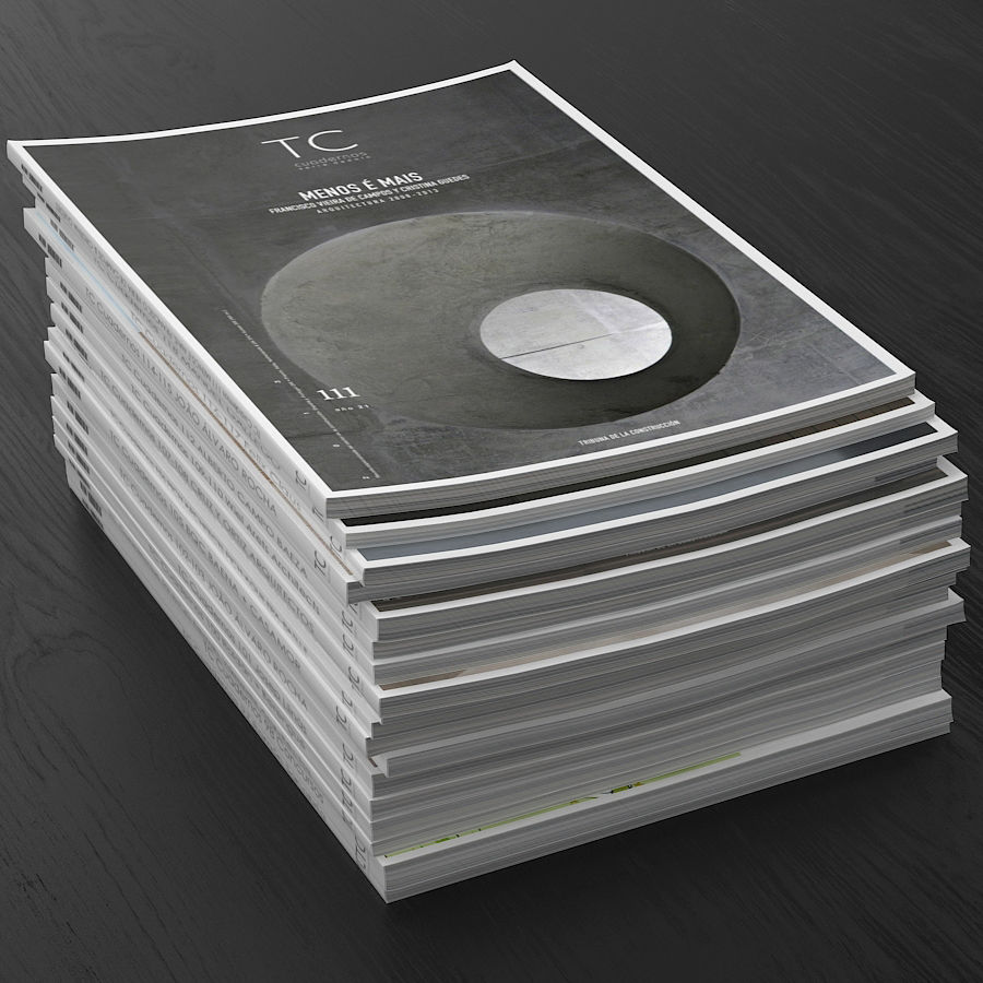Magazines Open royalty-free 3d model - Preview no. 10