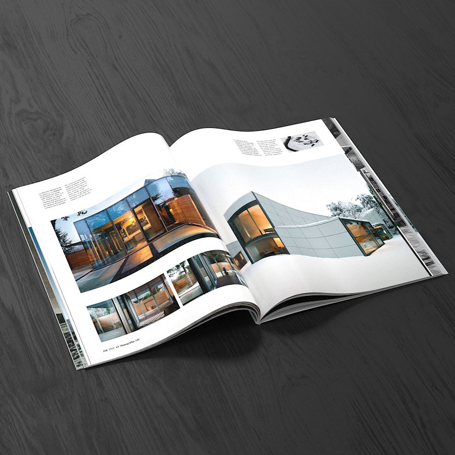 Magazines Open royalty-free 3d model - Preview no. 13