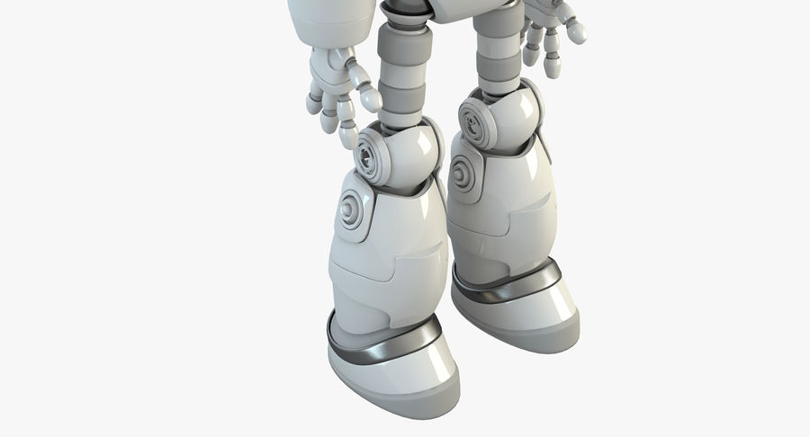 Robot Android Character royalty-free 3d model - Preview no. 9