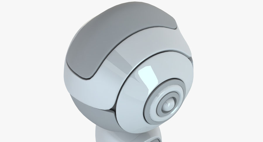 Roboter-Android-Charakter royalty-free 3d model - Preview no. 6
