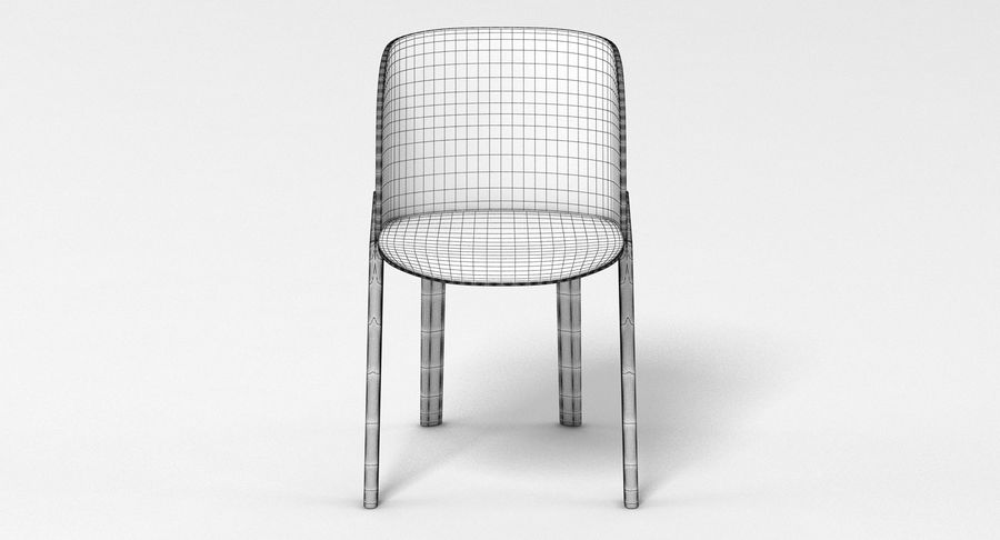 E15 That Chair royalty-free 3d model - Preview no. 6