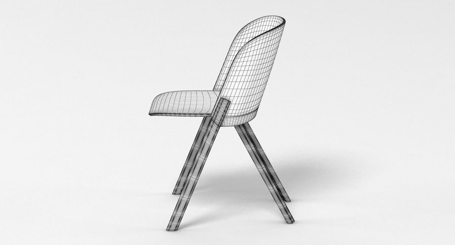 E15 That Chair royalty-free 3d model - Preview no. 8