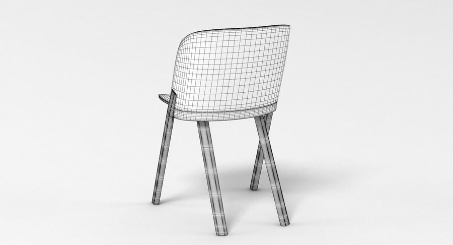 E15 That Chair royalty-free 3d model - Preview no. 10