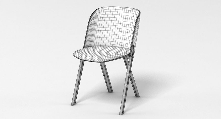 E15 That Chair royalty-free 3d model - Preview no. 4