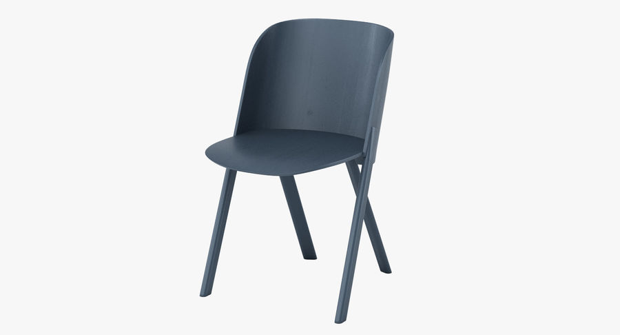 E15 That Chair royalty-free 3d model - Preview no. 2