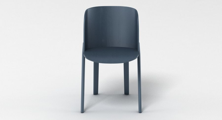 E15 That Chair royalty-free 3d model - Preview no. 5