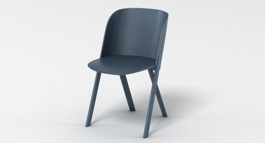 E15 That Chair royalty-free 3d model - Preview no. 3