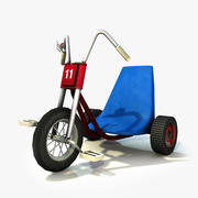 The shining Tricycle 3d model