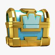 皇冠胸部 3d model