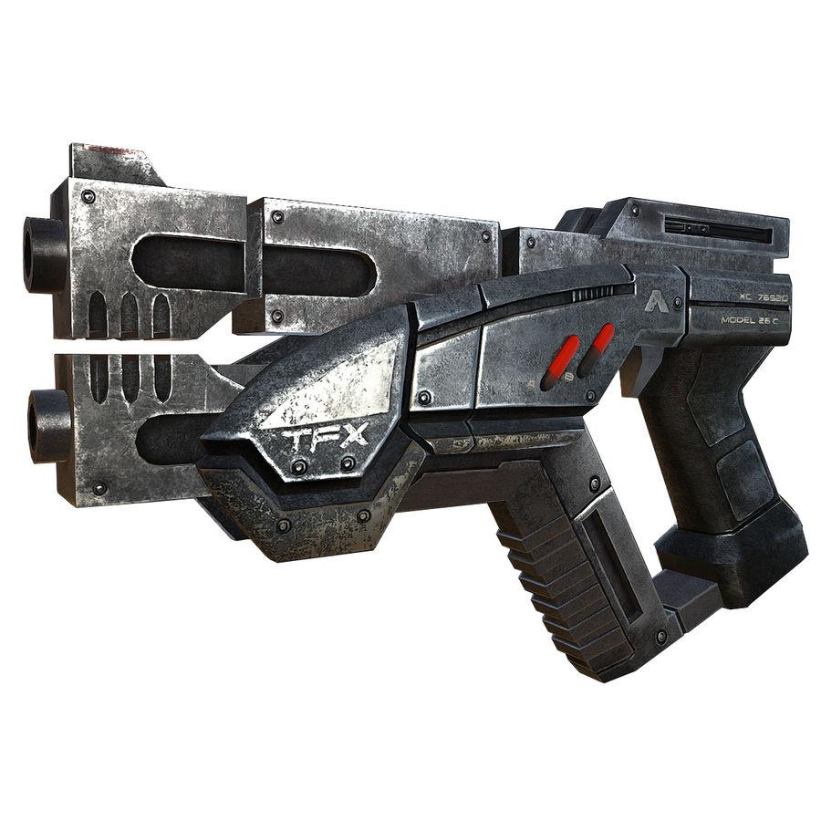 geweer royalty-free 3d model - Preview no. 1