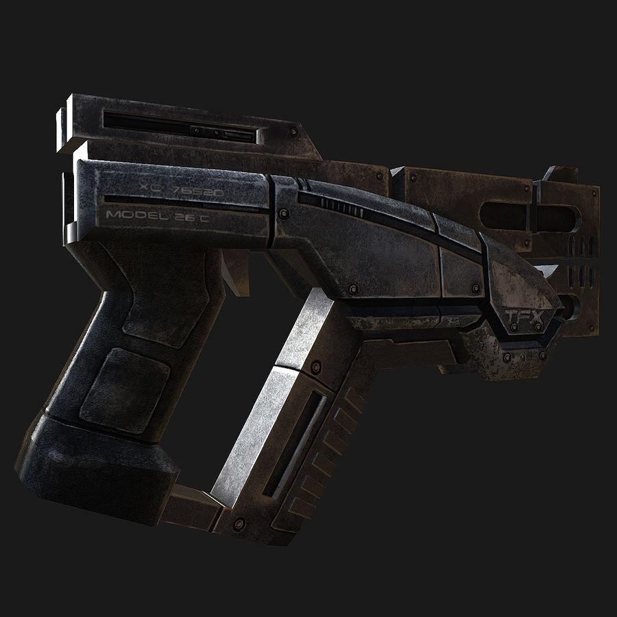 geweer royalty-free 3d model - Preview no. 8