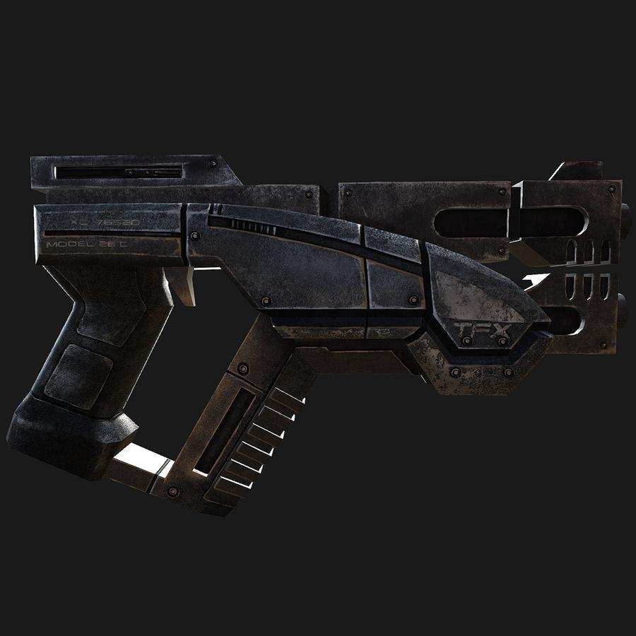 geweer royalty-free 3d model - Preview no. 7