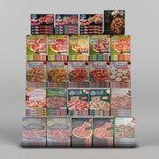 Pizza set 1 3d model