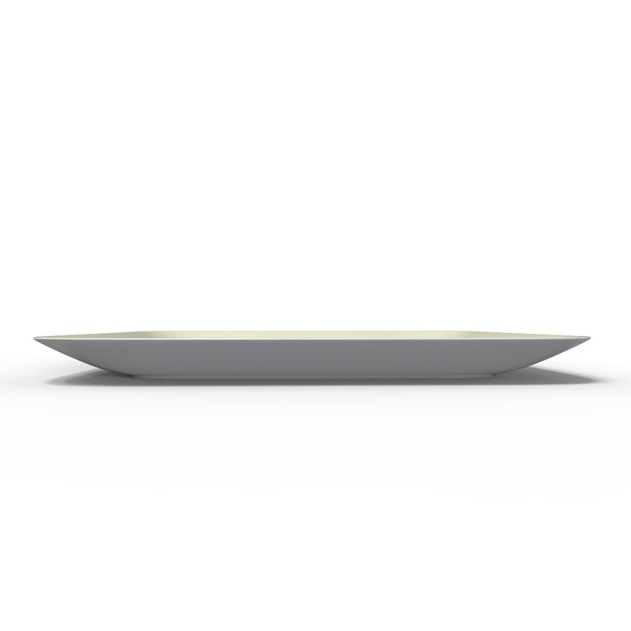 Plate Square V3 royalty-free 3d model - Preview no. 8