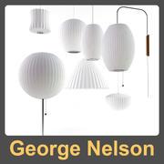 Colección de George Nelson modelo 3d