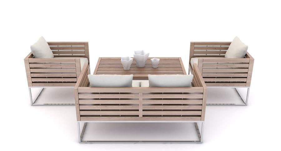 Terrific Patio Furniture Bermuda 3D Model 39 Unknown Max Fbx Machost Co Dining Chair Design Ideas Machostcouk