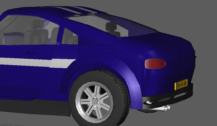 低ポリ車 royalty-free 3d model - Preview no. 6