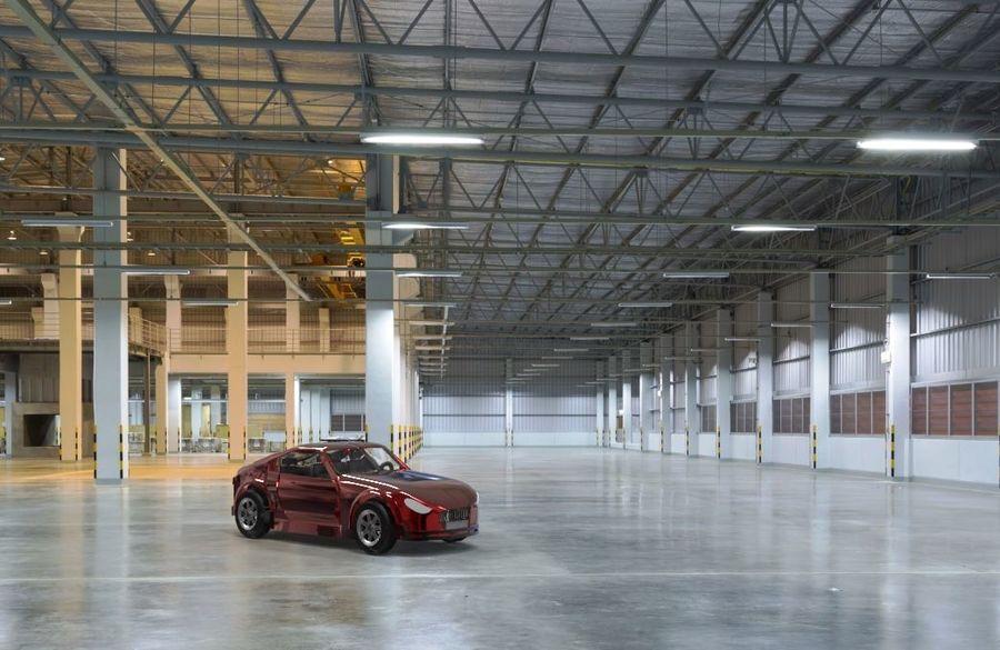 低ポリ車 royalty-free 3d model - Preview no. 2
