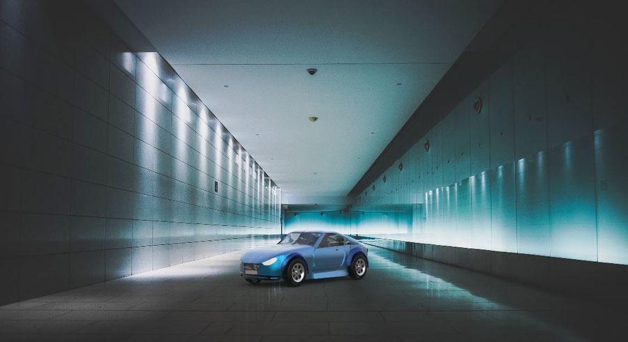 低ポリ車 royalty-free 3d model - Preview no. 1