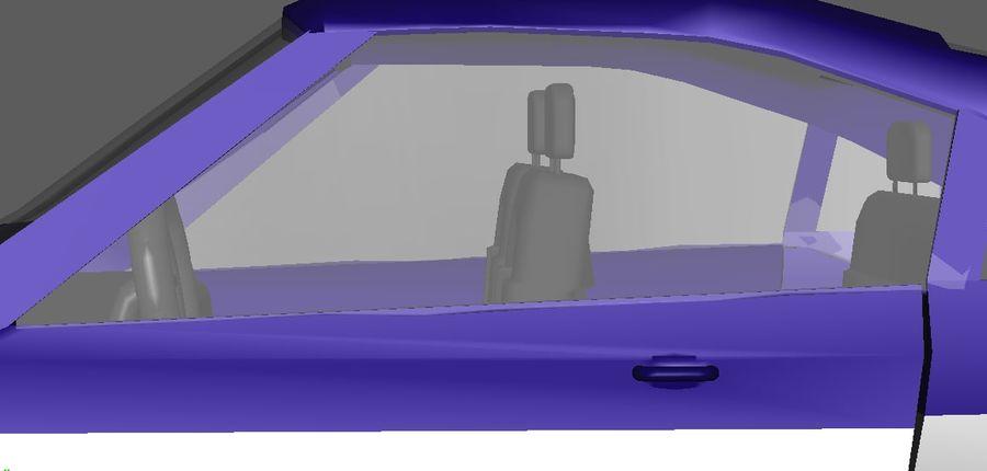 低ポリ車 royalty-free 3d model - Preview no. 5