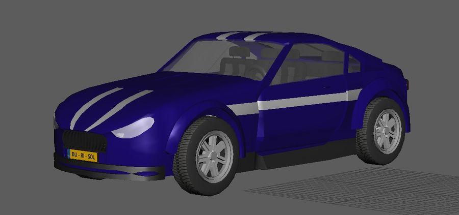 低ポリ車 royalty-free 3d model - Preview no. 3