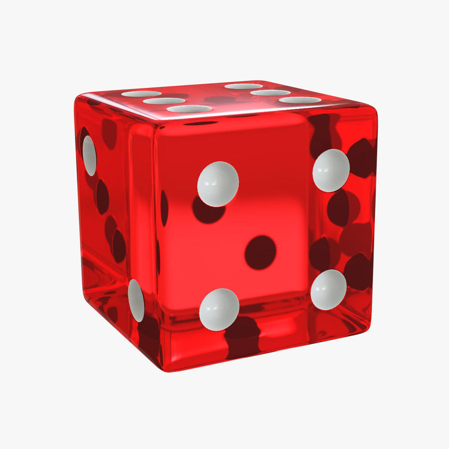 Dice royalty-free 3d model - Preview no. 1