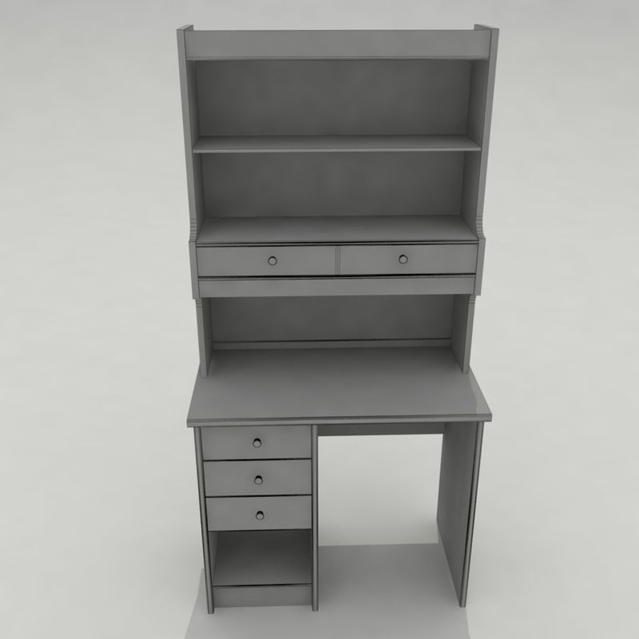 Escrivaninha royalty-free 3d model - Preview no. 13