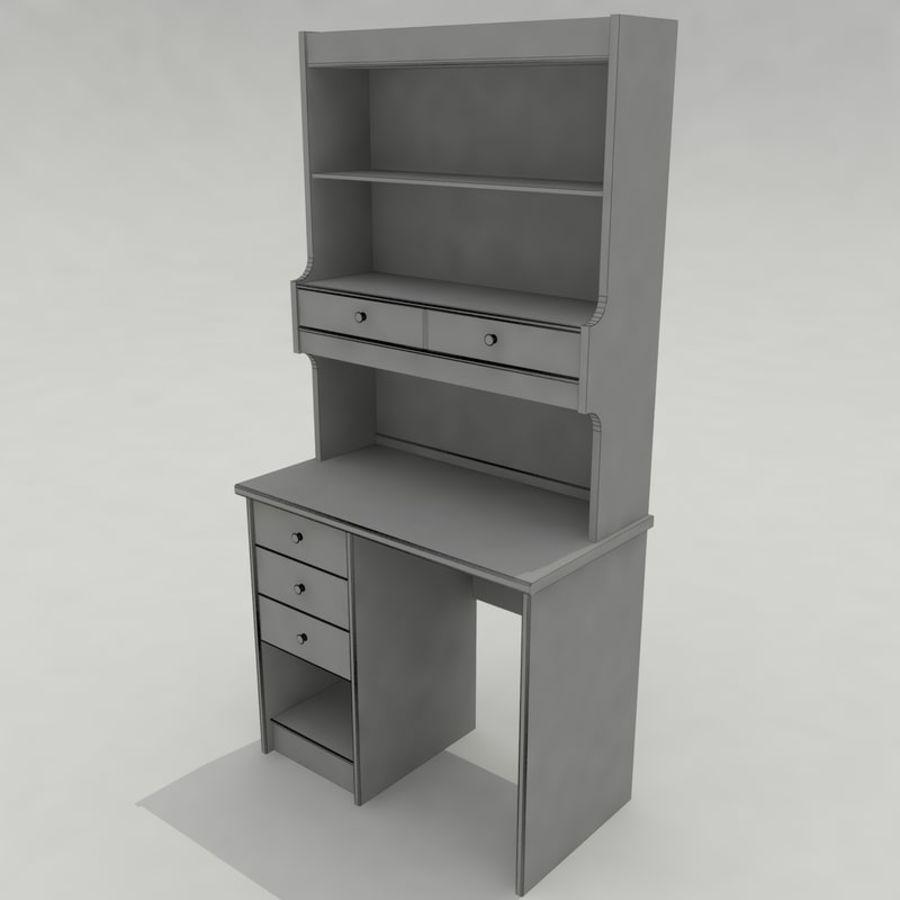 Escrivaninha royalty-free 3d model - Preview no. 14